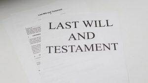 finding out if someone had a will